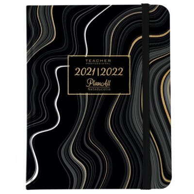 PlanAll Teacher 2021/22 Black Waves