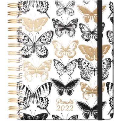 PlanAll Classic Spirál 2022 Butterfly
