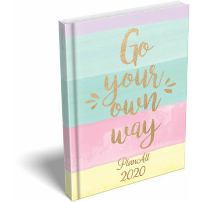 PlanAll Mini Gold Go your own way