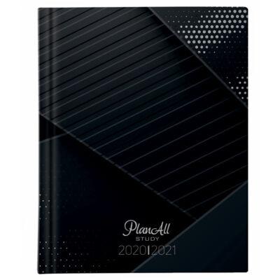 Planall Study Mini B6 Diák Tervező Black