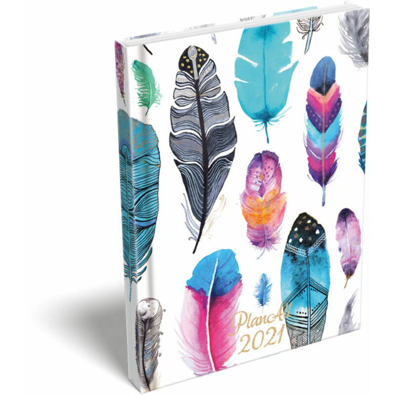 PlanAll A6 Mini 2021 Bright Feathers