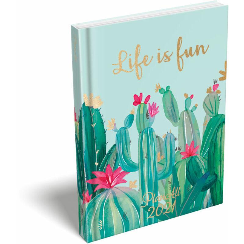 PlanAll A6 Mini 2021 Cactus Flower