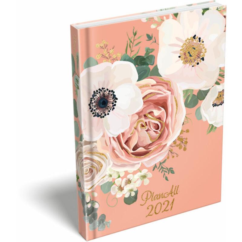 PlanAll A6 Mini 2021 Wild Rose
