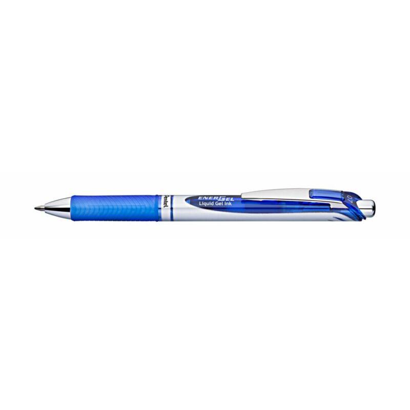 Pentel Zselés rollertoll EnerGel 0,7 kék tintával BL77-CO