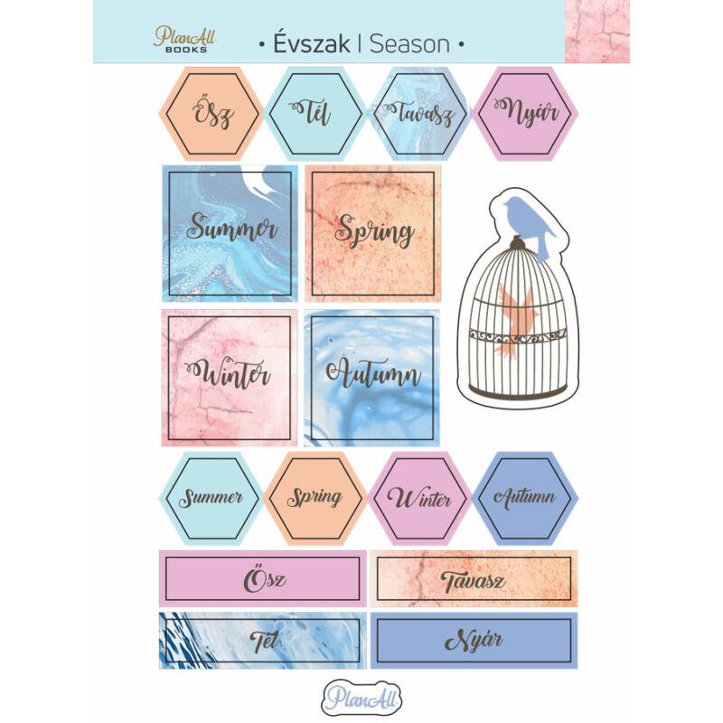PlanAll Matricás könyv