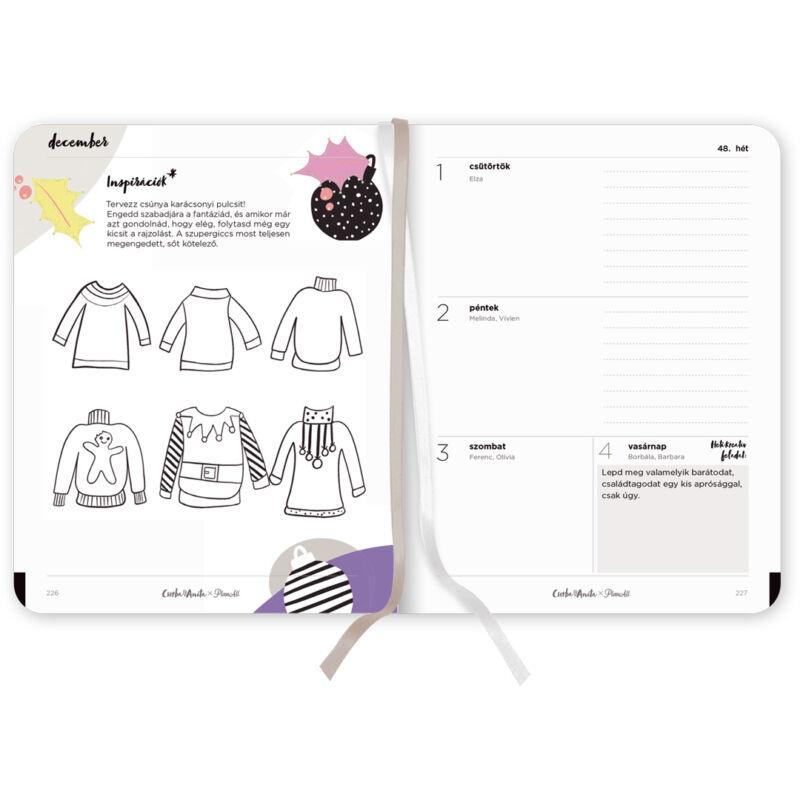 PlanAll x Csorba Anita - Kreatív tervező - Colorful